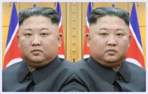 キムジョンウン 影武者 画像